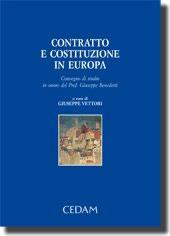 Contratto e costituzione in Europa
